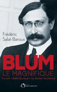 """Frédéric Salat-Baroux - Blum le magnifique - Du Juif """"Belle Epoque"""" au leader socialiste."""