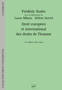 Frédéric Sudre - Droit européen et international des droits de l'homme.