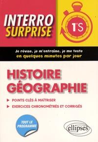 Frédéric Testu et Bernadette Tisserand - Histoire géographie 1re S - Points clés à maîtriser, 83 exercices chronométrés et corrigés.