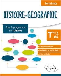 Frédéric Testu - Histoire-géographie Tle L et ES - Tout le programme en schémas.