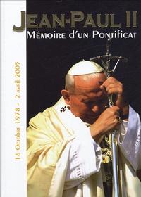 Frédéric Thibaud et Christian English - Jean-Paul II - Mémoire d'un pontificat 16 octobre 1978 - 2 avril 2005.