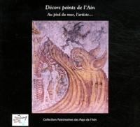 Frédéric Thouny - Décors peints de l'Ain - Au pied du mur, l'artiste....