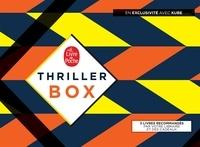 Frédéric Viguier et Camilla Grebe - Thriller Box - Contient 3 romans : Aveu de faiblesse ; Un cri sous la glace ; Toxique. Avec 1 marque page, 1 bloc de feuilles, 1 sachet de thé.