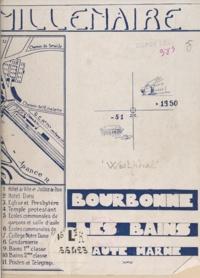 Frédéric Westphal et S. Dupin de Lacoste - Deuxième millénaire de Bourbonne-les-Bains.