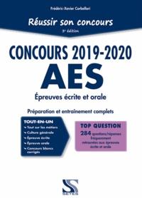 Réussir son concours AES- Accompagnant éducatif et social - Frédéric-Xavier Corbellari |