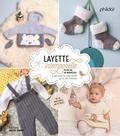 Frédérique Alexandre - Layette intemporelle - Plus de 70 modèles à tricoter ou crocheter au fil des saisons.