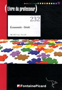 Galabria.be Economie-Droit 2e Bac pro 3 ans - Livre du professeur Image