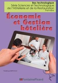 Frédérique Bertholio - Economie et gestion hôtelière 1re Bac technologique STHR.