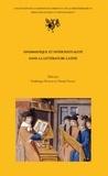 Frédérique Biville et Daniel Vallat - Onomastique et intertextualité dans la littérature latine - Actes de la journée d'étude tenue à la Maison de l'Orient et de la Méditerranée-Jean Pouillous le 14 mars 2005.