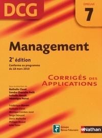 Frédérique Blondel et Sandra Charreire Petit - EXPERT COMPTA  : Management - épreuve 7 - DCG corrigés - Format : ePub 2.