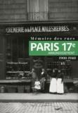 Frédérique Bousquel - Mémoire des rues : 17e arrondissement.