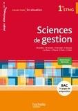 Frédérique Brossillon et Martine Burnens - Sciences de gestion 1re STMG - Pages détachables.