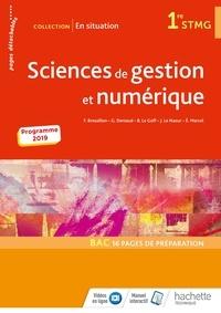 Frédérique Brossillon et Guilaine Deniaud - Sciences de gestion et numérique 1re STMG En situation.