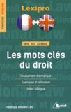 Frédérique Corbière-Lévy - Les mots clés du droit.