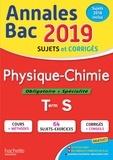 Frédérique de La Baume-Elfassi - Annales BAC Physique-Chimie Tle S.