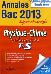 Frédérique de La Baume-Elfassi - Physique-Chimie Tle S Spécifique et spécialité.