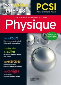 Frédérique de La Baume et Caroline Goutelard - Physique PCSI.