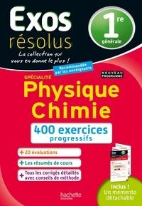 Frédérique de La Baume et Stéphane Blat - Spécialité Physique Chimie 1re.