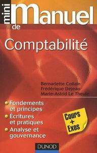 Frédérique Déjean et Bernadette Collain - Mini manuel de comptabilité - Cours + Exos.