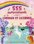 Frédérique Fraisse et Bradley Hunt - Chevaux et licornes - 555 autocollants.
