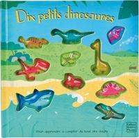 Frédérique Fraisse et Susie Brooks - Dix petits dinosaures.