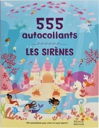 Frédérique Fraisse et Lauren Ellis - Les sirènes - 555 autocollants.