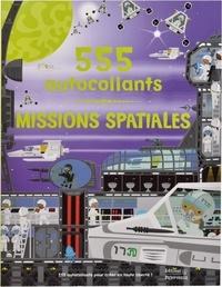 Frédérique Fraisse et Dan Crisp - Missions spatiales - 555 autocollants.