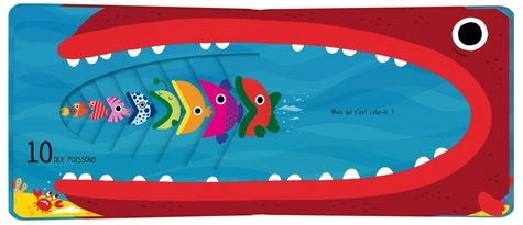 Un petit poisson.... Un livre pour compter qui a du mordant !
