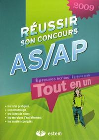 Frédérique Jaquet et Evelyne Boutet - Réussir son concours AS/AP.