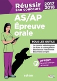Frédérique Jaquet et Françoise Sanchez - Réussir son concours AS/AP - Epreuve orale.