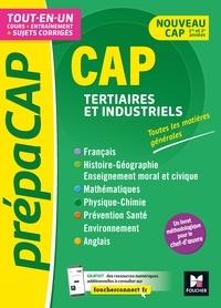 Frédérique Le Graverend et Annie Goulvent - PrépaCAP - CAP Tertiaires et industriels - Matières générales Nouv. programmes-Révision entraînement.