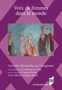 Frédérique le Nan et Andrea Brünig - Voix de femmes dans le monde - Au prisme du genre dans la littérature et les arts.