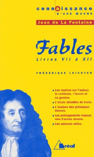 Livre 7 Des Fables De La Fontaine Analyse