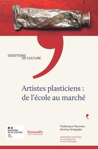 Frédérique Patureau - Artistes plasticiens : de l'école au marché.
