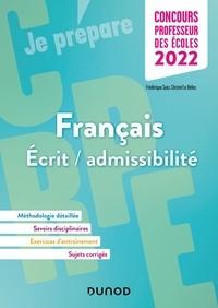 Frédérique Saez et Christel Le Bellec - CRPE Concours Professeur des écoles - Français écrit-admissibilité.