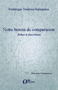 Corridashivernales.be Notre besoin de comparaison - Préface de Pierre Brunel Image