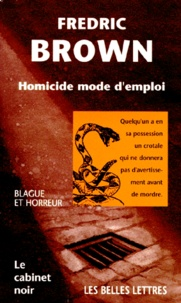 Fredric Brown - Homicide mode d'emploi.