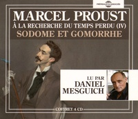 Marcel Proust - A la recherche du temps perdu Tome 4 : Sodome et Gomorrhe. 4 CD audio