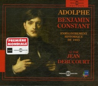 Benjamin Constant - Adolphe. 2 CD audio