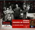 Philippe De Gaulle - Amiral Philippe de Gaulle - Entretiens Coffret en 2 CD audio.