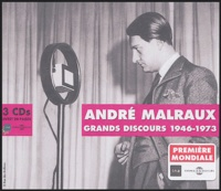 INA - André Malraux - Grands discours 1946-1973. 3 CD audio