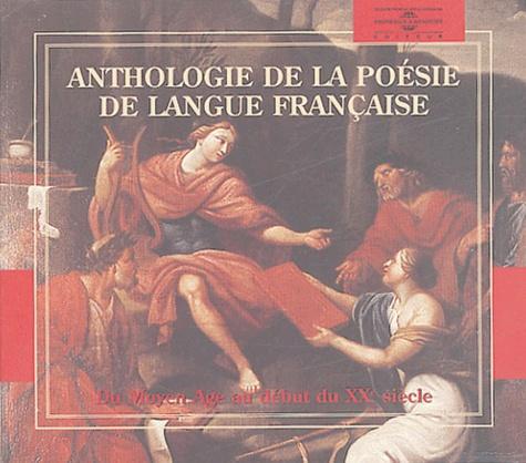 Olivier Cohen - Anthologie de la poésie de langue française. 6 CD audio