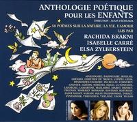 Alain Frémeaux et Rachida Brakni - Anthologie poétique pour les enfants - CD audio.
