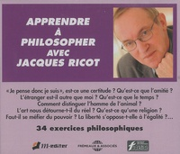Jacques Ricot - Apprendre à philosopher - 2 CD audio.
