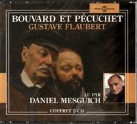 Gustave Flaubert et Daniel Mesguich - Bouvard et Pécuchet. 5 CD audio