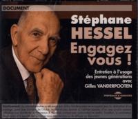 Stéphane Hessel - Engagez-vous ! - Entretien à l'usage des jeunes générations. 2 CD audio