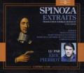 Baruch Spinoza - Extraits. 3 CD audio