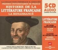Alain Viala - Histoire de la littérature française - La Renaissance. 5 CD audio