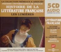 Alain Viala - Histoire de la littérature française - Les Lumières. 5 CD audio