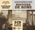Stéphane Benoist - Histoire de Rome. 5 CD audio